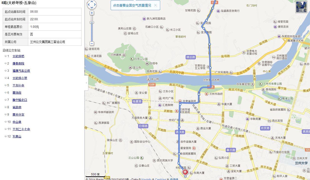 公交路线图