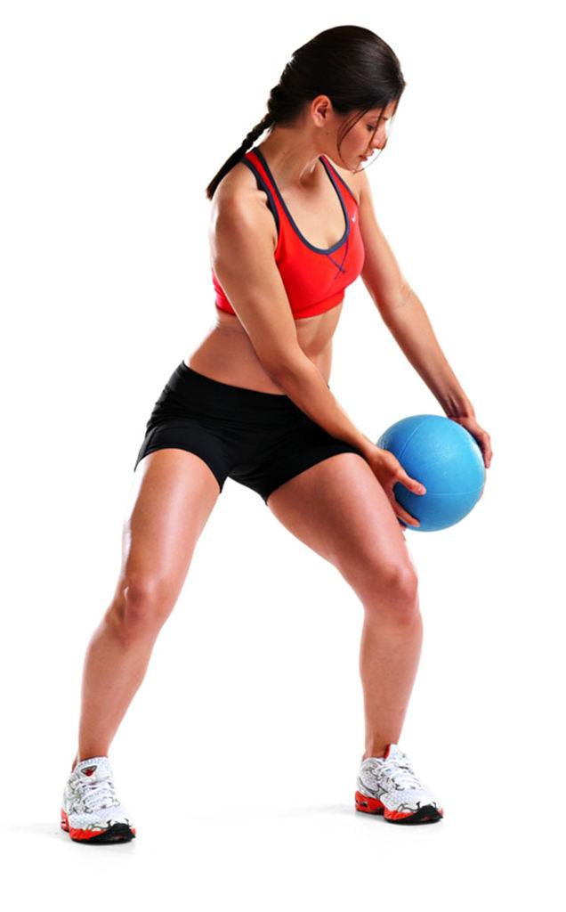15分钟核心肌锻炼计划:平坦飞机场在腹部