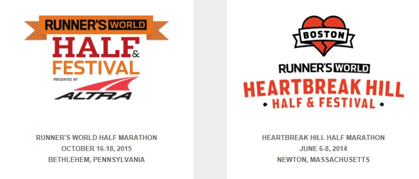 2015年美国半程马拉松日历