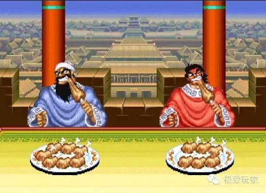 图为上世纪90年代经典街机游戏三国志
