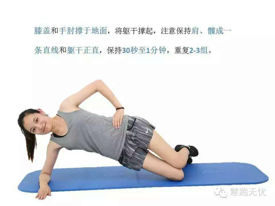 跑步练核心=平板撑?