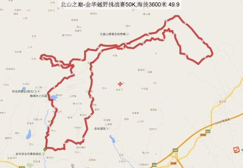 珠海市北山地图